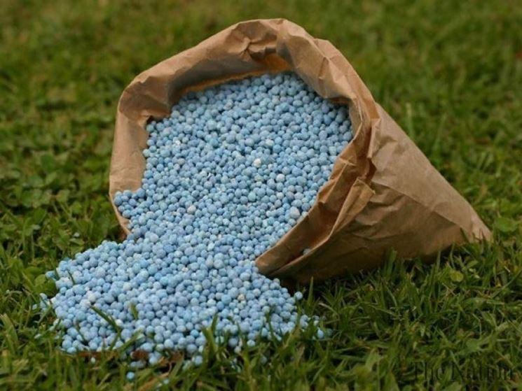 Tipologia fertilizzante granulare