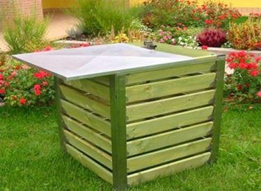 compostiera per rifiuti