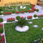giardino colorato e verdeggiante