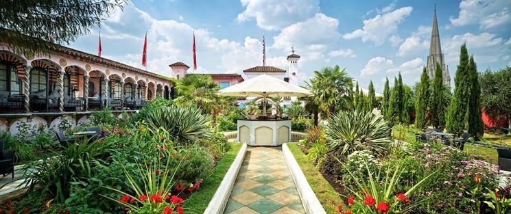 Roof garden ampio e spazioso