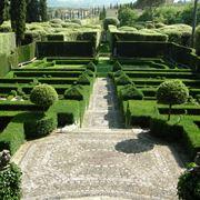 Esmpio lampante di giardino all'italiana