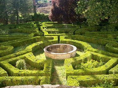Giardino all'italiana di Villa Salina, vicino Bologna