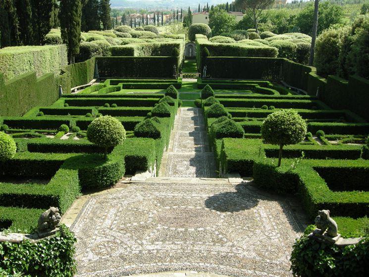 giardino all'italiana - giardinaggio - caratteristiche del ... - Piccolo Giardino Allitaliana