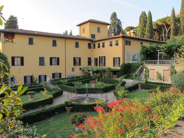 Giardino di Villa Sparta