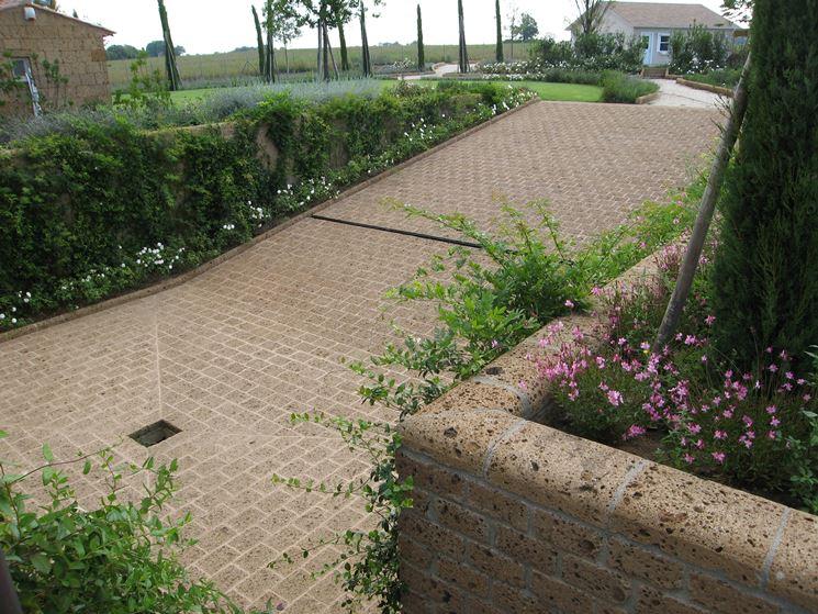Mattoni di tufo giardinaggio caratteristiche dei for Piani di fattoria in mattoni