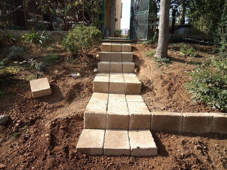 mattoni in tufo giardinaggio mattoni in tufo