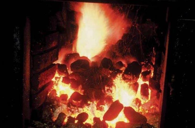 Torba utilizzata come fonte di calore