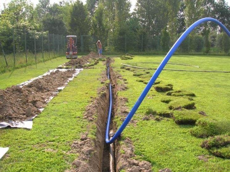 Casa immobiliare accessori come costruire un impianto di for Irrigazione giardino