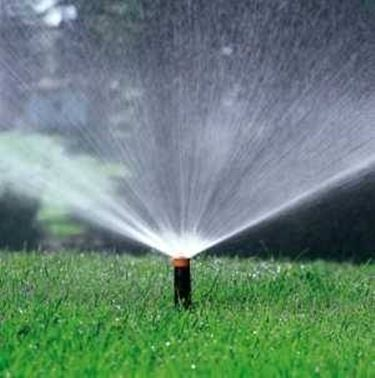Esempio di un impianto irrigazione fuori terra