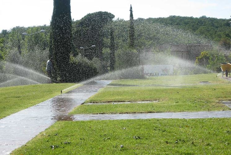 Impianto irrigazione giardino impianto irrigazione for Sistemi di irrigazione giardino