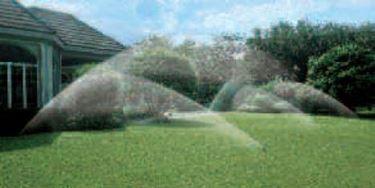 Un esempio di impianto d irrigazone interrato.