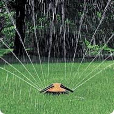 Un esempio di irrigatori statici.