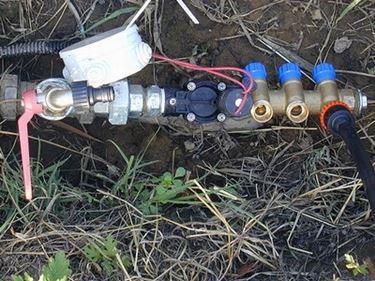 tubi irrigazione fuori terra