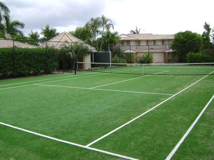 campo da tennis erba sintetica