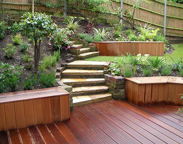 Allestimento giardino - progettazione giardini - Come ...