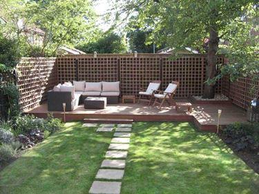 Elementi di arredo per piccoli giardini