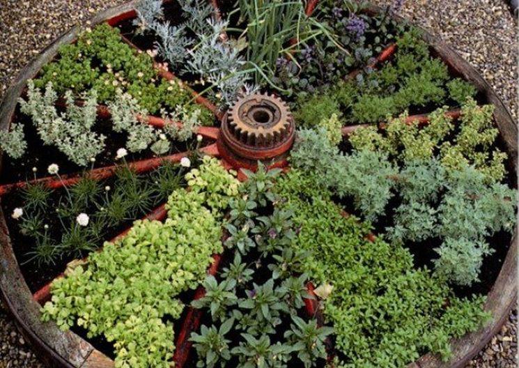 Verde e design: le aiuole