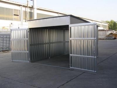 Box auto prefabbricati progettazione giardini for 1 1 2 box auto