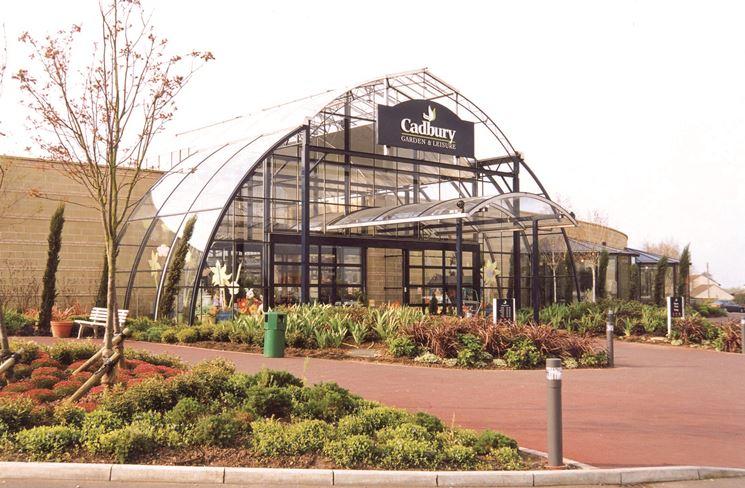 Tipica immagine di un interno di un centro di giardinaggio