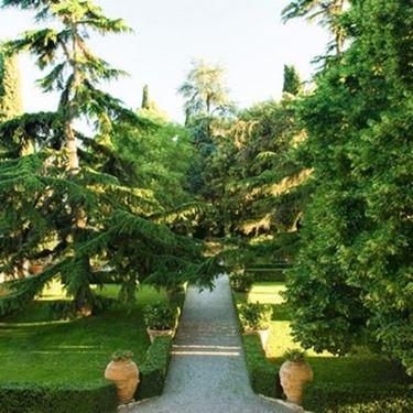 maestoso giardino italiano
