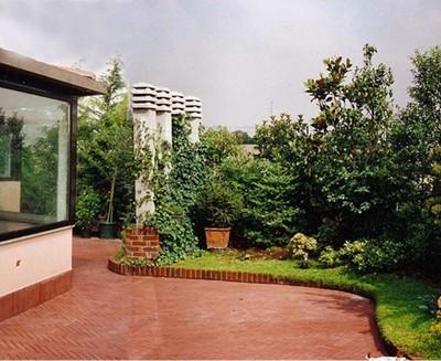 Filosofia giardini pensili progettazione giardini - Giardino pensile terrazzo ...