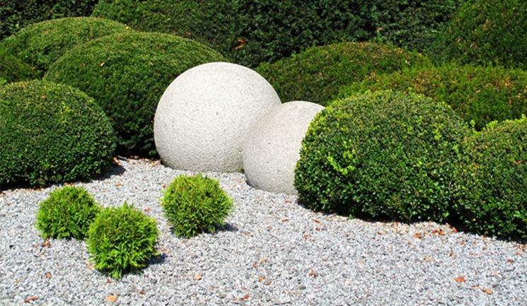 ghiaia per giardino - progettazione giardini - caratteristiche e ... - Piccolo Giardino Con Ghiaia
