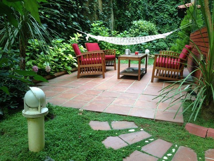 Estremamente Giardini di piccole dimensioni - progettazione giardini  SZ42