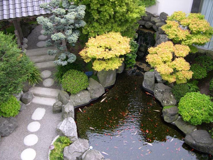 giardini di piccole dimensioni - progettazione giardini ... - Costruire Piccolo Giardino Zen