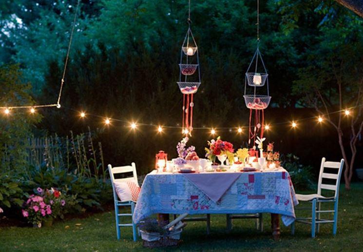 Giardini illuminati progettazione giardini for Idee per giardino in terrazza