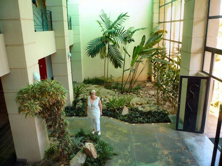 Giardini interni progettazione giardini progettazione for Giardino zen piante