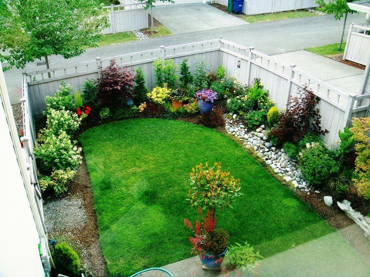 Top Giardini piccoli - progettazione giardini - Come progettare  AO84