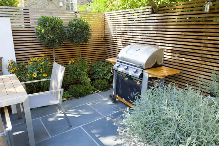 Giardini piccoli progettazione giardini come for Small garden designs south africa