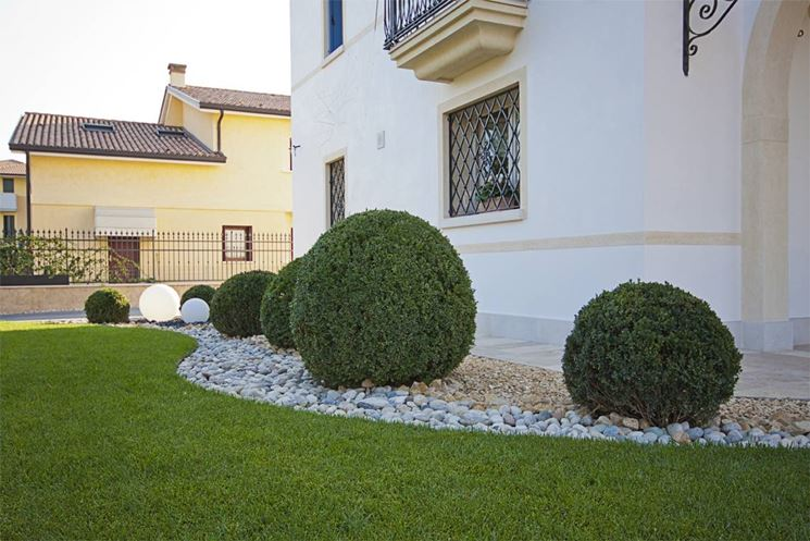 Sistemazione giardino privato te26 pineglen for Piccoli piani di costruzione della casa