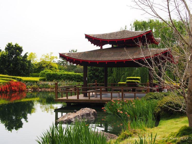 Giardino all 39 inglese progettazione giardini giardino for Giardino orientale