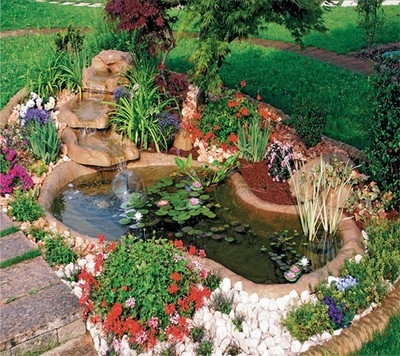 Giardino con acqua progettazione giardini for Piante da stagno