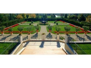 giardino italiano di ampie dimensioni
