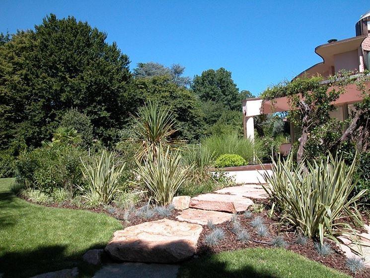 Favorito Giardino mediterraneo - progettazione giardini - Giardino alla  TN49