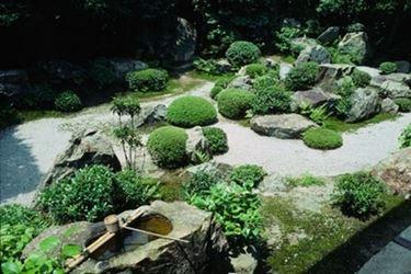 giardino zen esterno