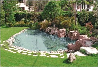 Laghetti d 39 acqua progettazione giardini for Cascate per laghetti da giardino