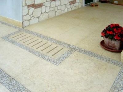 Pavimenti esterno progettazione giardini - Piastrelle di cemento da esterno ...