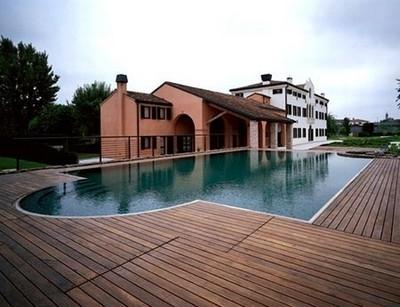 Pavimenti in legno per esterni progettazione giardini - Pavimento in legno per giardino ...