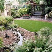 Un piccolo giardino roccioso