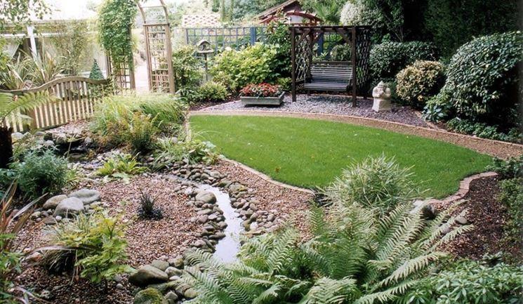 Piccolo giardino progettazione giardini realizzare un piccolo giardino - Landscape design small spaces photos ...