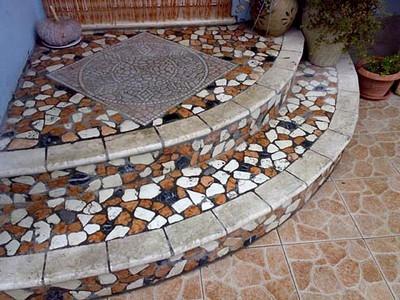 Scivolo per pedana giardino piastrella mattonella pavimento