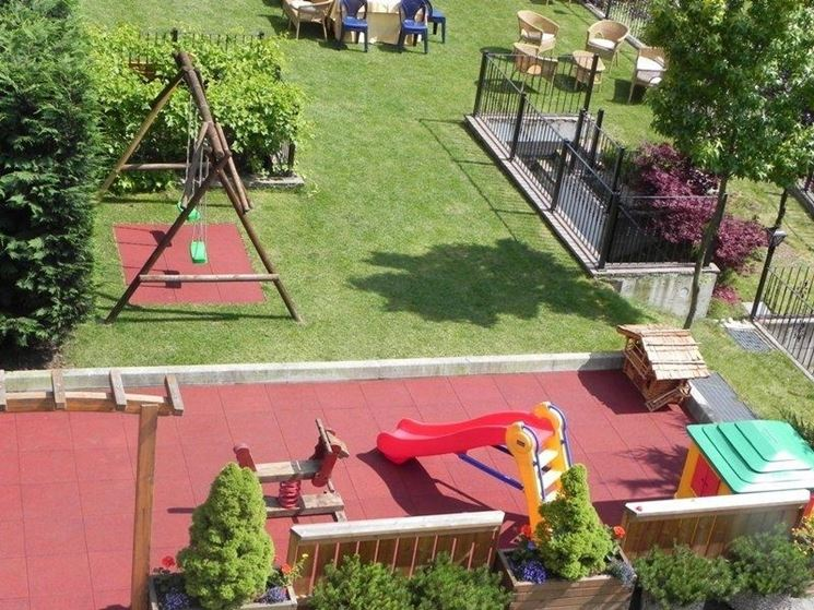 Progetti giardini privati progettazione giardini - Giardino per cani ...