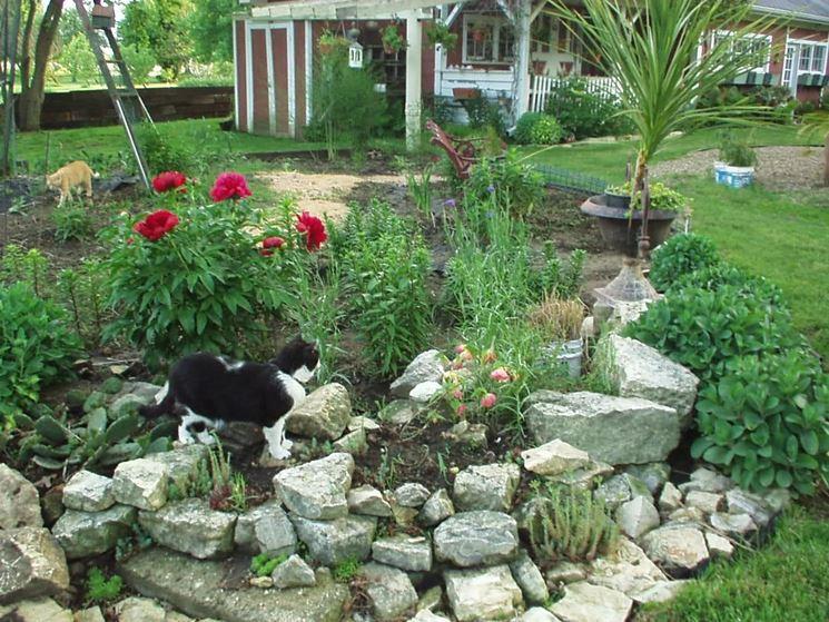 Sassi da giardino progettazione giardini usare sassi for Sassi bianchi da giardino prezzo