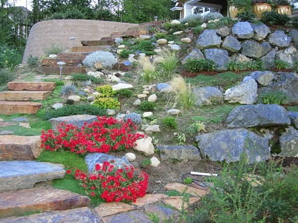 Sassi per giardino - progettazione giardini - Uso dei sassi in ...