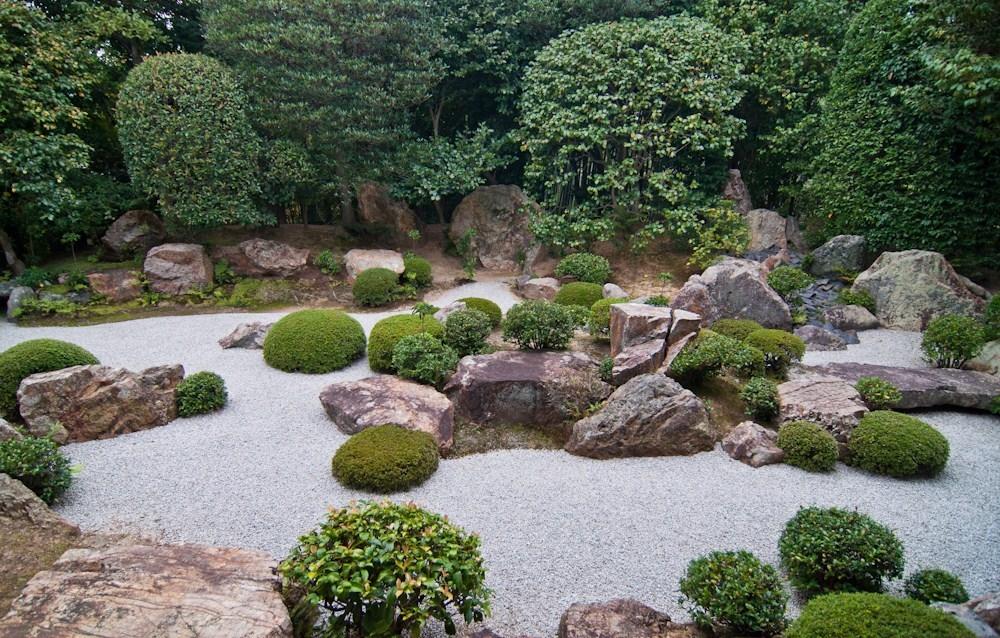 Sassi per giardino progettazione giardini uso dei for Giardini decorati con sassi