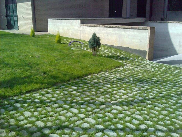 Vialetto giardino progettazione giardini progettare un for Ciottoli da giardino