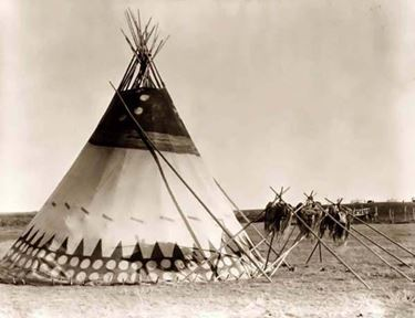 Un Tepee indiano